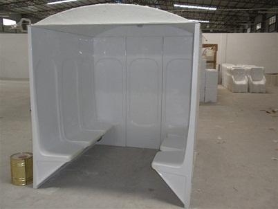亚克力湿蒸房房体生产车间