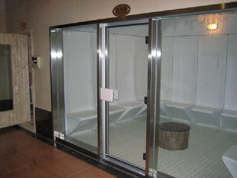 蒸汽房配铝合金框